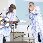 Boubacar Traoré et Vincent Bucher – Paris Jazz Festival – 11 juillet 2015