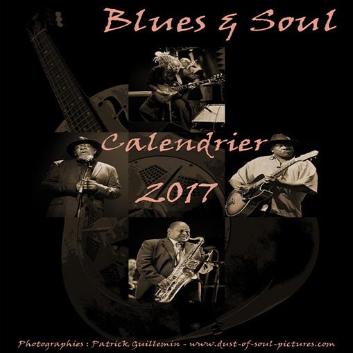 Calendrier Blues 2017