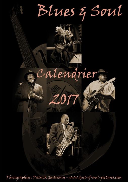 Calendrier blues 2017 - Couverture