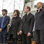 Lay, Laurent, Zelnik, Kontomanou – La Défense Jazz Festival – 13 juin 2016